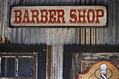 barberaren shoppar Arkivfoto