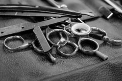 Barberaren shoppar Royaltyfri Fotografi