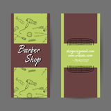 BarberCards Royalty Free Stock Photo