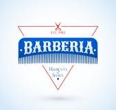 Barberia, testo dello Spagnolo del parrucchiere royalty illustrazione gratis