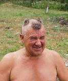 Barbering men Stock Photography
