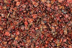 Barberries. Dried barberries for background use Royalty Free Stock Photos
