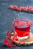 Barberry and barberry juice stock photography