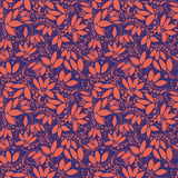 Barberry seamless pattern. silhouette of berry or plants Stock Photo