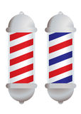 Barbers pole Stock Photography