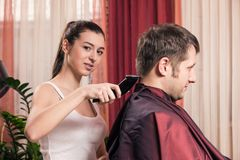 Barbershop Royalty Free Stock Photo