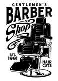 Barbershop Chair Vector Illustration Royalty Free Illustration