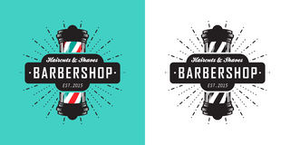 Barbershop icon Royalty Free Stock Images