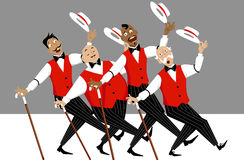 Barbershop quartet Stock Photography