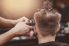barbershop Tagli del barbiere fotografie stock libere da diritti