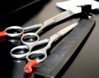 Barbershop tools Royalty Free Stock Photo