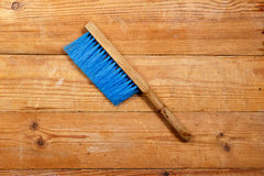 Barbetta sui bordi di legno Fotografia Stock