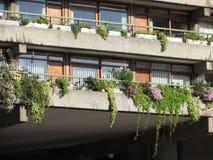Απόψεις του κέντρου Barbican Στοκ Εικόνες