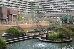 Barbican湖 库存照片