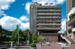 Barbican architecture Royalty Free Stock Image