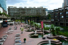 The Barbican Center London Stock Images