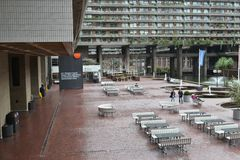 Barbican Centre Estate London Royalty Free Stock Photography