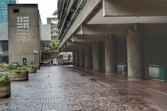 Barbican Centre housing estate London Royalty Free Stock Image