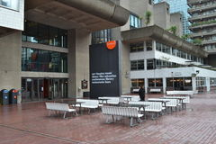 Barbican Centre housing estate London Royalty Free Stock Photography