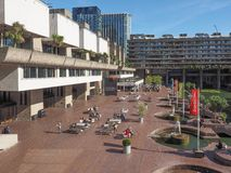 Barbican centre in London Royalty Free Stock Photography