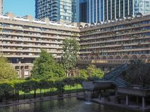Barbican centre in London Stock Photo