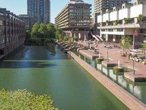 Barbican centre in London Stock Image