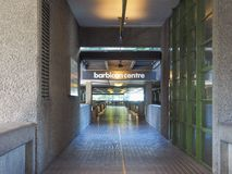 Barbican centre in London Royalty Free Stock Image