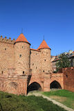 Barbican city walls in Warsaw Royalty Free Stock Image