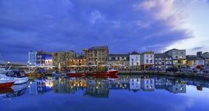 Barbican de Plymouth, Devon, Reino Unido Fotos de Stock Royalty Free