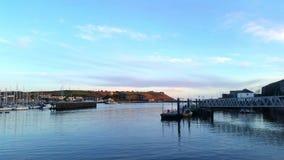 Barbican de Plymouth e Sutton--Ashfield no porto Devon Reino Unido fotografia de stock royalty free