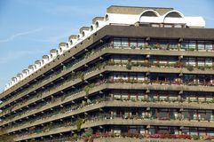 The Barbican Estate Stock Images