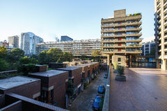 Barbican Estate of the City of London Royalty Free Stock Photo