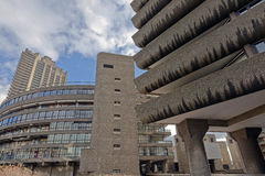 Barbican Estate London Royalty Free Stock Photo