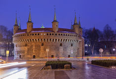 Barbican in Krakow Royalty Free Stock Images