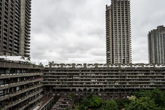 Barbican towers Royalty Free Stock Photography