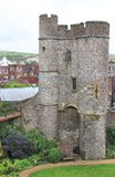 Barbicon of Lewes Castle Royalty Free Stock Photography