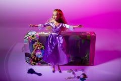 barbie玩偶matell 免版税库存照片