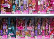 Barbie en tienda Fotos de archivo