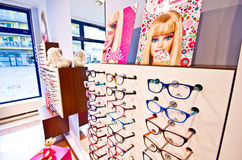 Barbie eyeglass collection Stock Photos