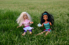 Barbie-Mädchen Stockfoto