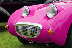 Barbie pink frogeye sprite car Royalty Free Stock Photo