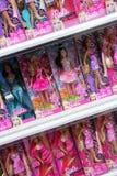 Barbie-poppen Stock Afbeeldingen