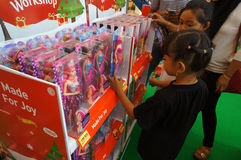 Barbie-poppen Royalty-vrije Stock Afbeeldingen