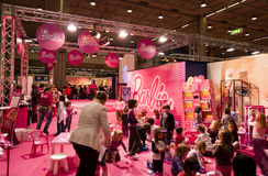 Barbie  stand at G! Come Giocare 2010 Stock Photography