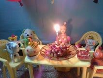 Barbie urodziny zdjęcia stock