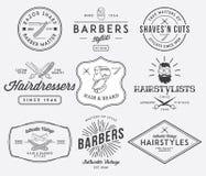 Barbiere 2 Fotografia Stock Libera da Diritti