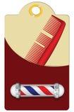 Barbiere di vecchio stile illustrazione di stock