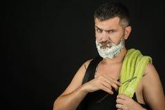 Barbiere e parrucchiere immagini stock libere da diritti