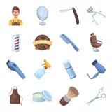 Icone dell 39 attrezzatura di lavoro di parrucchiere for Simbolo barbiere