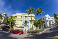 The Barbizon Hotel in Miami Beach Stock Photography